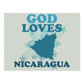 God Loves Nicaragua Post Card