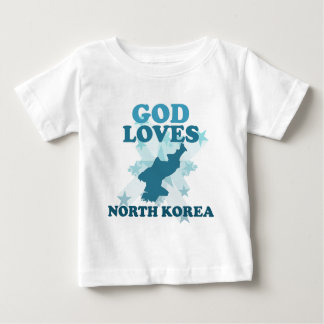 God loves north korea shirt