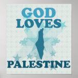 God Loves Palestine Print