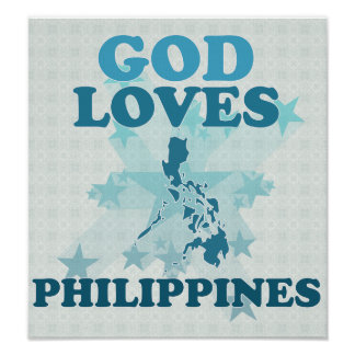 God Loves Philippines Poster