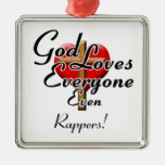 God Loves Rappers! Ornaments