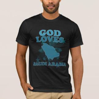 God Loves Saudi Arabia T-Shirt