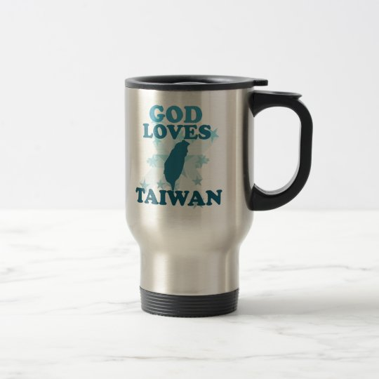 God Loves Taiwan Travel Mug