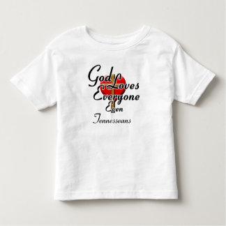 God Loves Tennesseans T-shirt