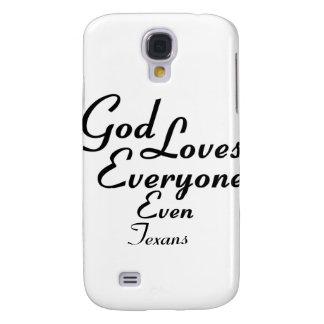 God Loves Texans Galaxy S4 Cover