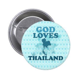 God Loves Thailand Pins