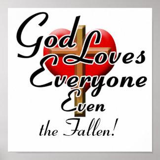 God Loves the Fallen! Poster