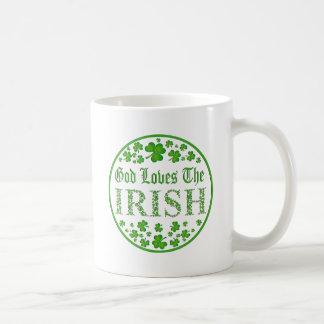 God Loves The Irish Coffee Mug