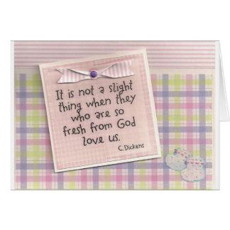 God Loves Us Card