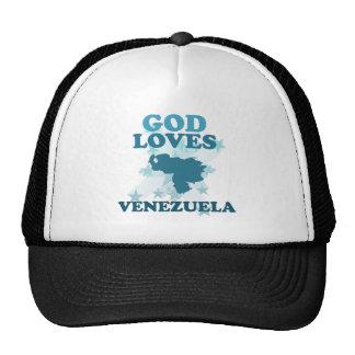 God Loves Venezuela Trucker Hat