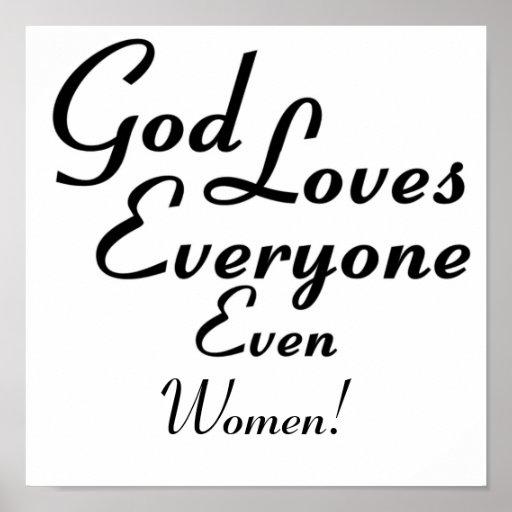 God Loves Women! Poster
