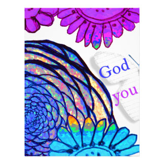 God loves you and me! letterhead