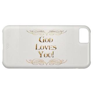 God Loves You! Case For iPhone 5C