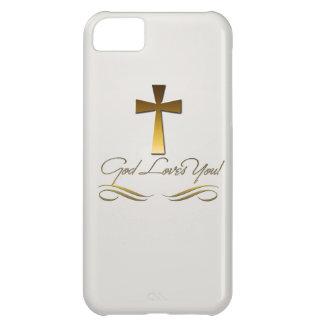 God Loves You Case For iPhone 5C