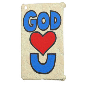 God Loves You Cover For The iPad Mini