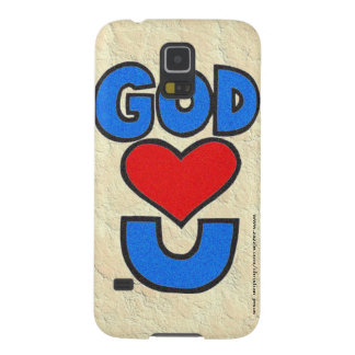 God Loves You Galaxy S5 Cover
