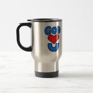 God Loves You Travel Mug