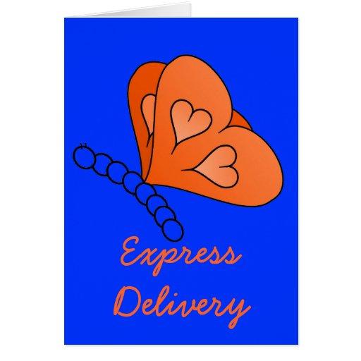 God Made 'Em Express Delivery Greeting Card