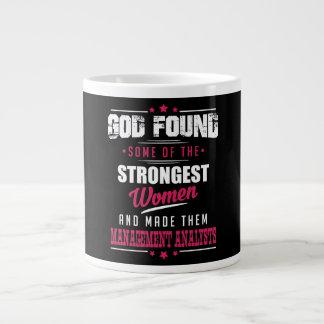 God Made Management Analysts Hilarious Profession Large Coffee Mug