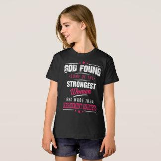 God Made Management Analysts Hilarious Profession T-Shirt