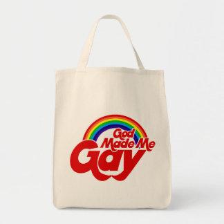 God Made me Gay Rainbow Bags