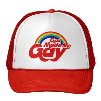 God Made me Gay Rainbow Trucker Hat