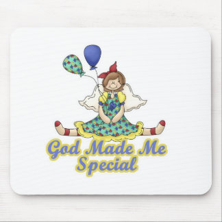 God Made Me Special-Autism Awareness Mouse Pad