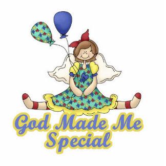 God Made Me Special-Autism Awareness Standing Photo Sculpture