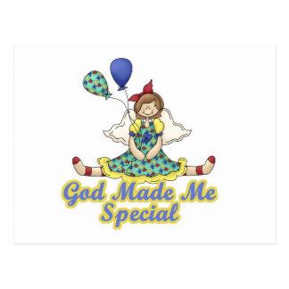 God Made Me Special-Autism Awareness Postcard