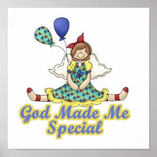 God Made Me Special-Autism Awareness Poster