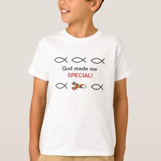 God made me special - autism T-Shirt