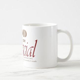 God Made Me Special Coffee Mug