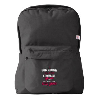 God Made Physical Therapists Hilarious Profession American Apparel™ Backpack