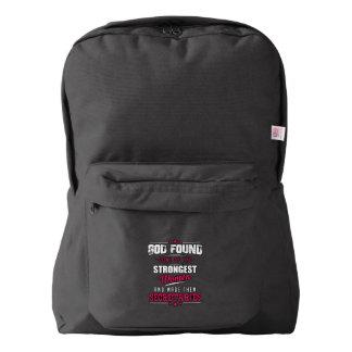 God Made Secretaries Hilarious Profession Design American Apparel™ Backpack