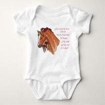 God Made the Horse Baby Bodysuit