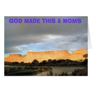 GOD MADE THIS & MOMS CARD