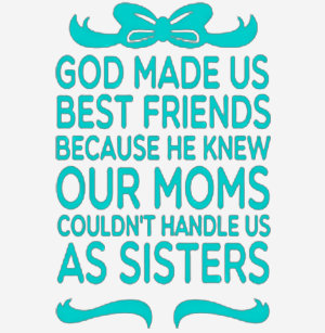 God Made Us Best Friends T Shirts T Shirt Design Printing Zazzle