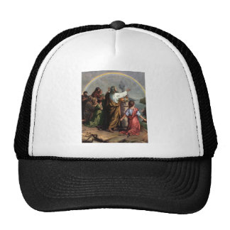 God Makes a Promise to Noah Mesh Hat