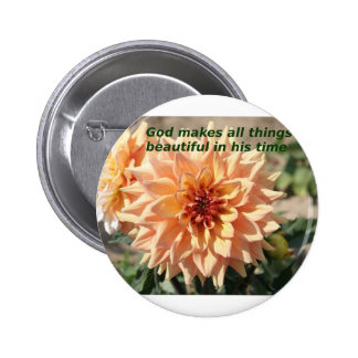 God makes everything beautiful in his time pin