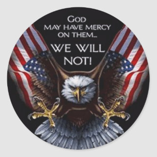 God May Have Mercy Stickers