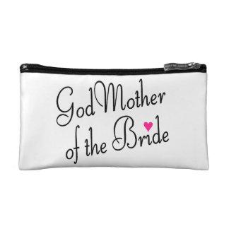 God Mother of the Bride Makeup Bag