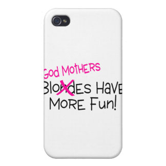 God Mothers Have More Fun Cases For iPhone 4