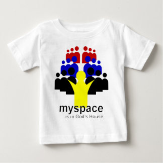 God MySpace Baby T-Shirt