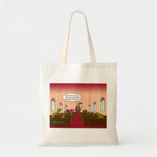 God Never Gives Us More Than We Can Handle Budget Tote Bag