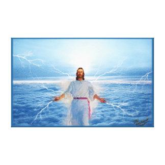 God of Light - Jesus Christ Canvas Print