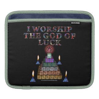 God of Luck iPad Sleeves