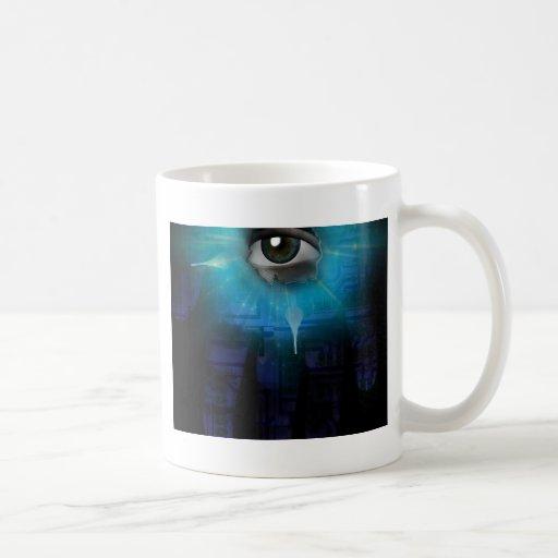 God of Machines Classic White Coffee Mug