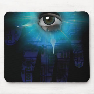 God of Machines Mouse Pad
