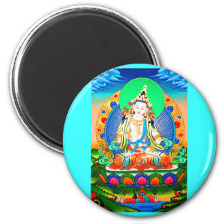 God of purification 2 inch round magnet