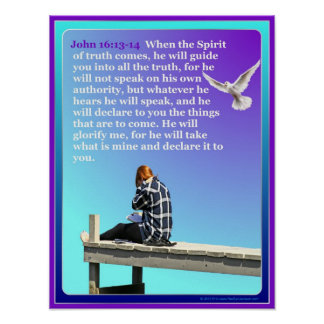 God On The Dock Inspirational Poster